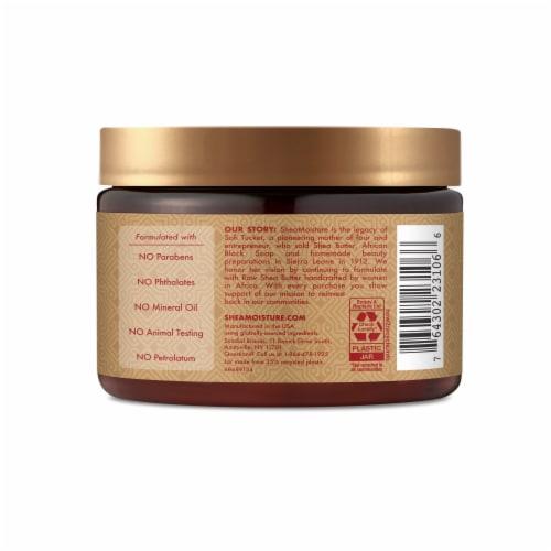 Shea Moisture Manuka Honey & Mafura Oil Intensive Hydration Hair Masque Perspective: left