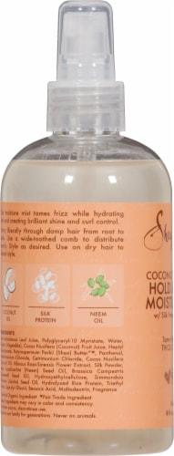 SheaMoisture Coconut & Hibiscus Hold & Shine Moisture Mist Perspective: left