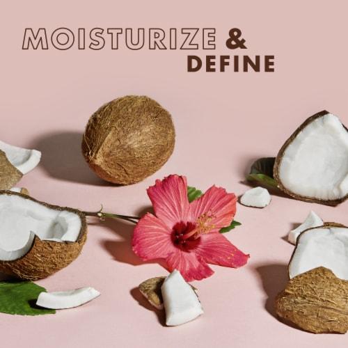 SheaMoisture Coconut & Hibiscus Curl & Shine Conditioner Perspective: left