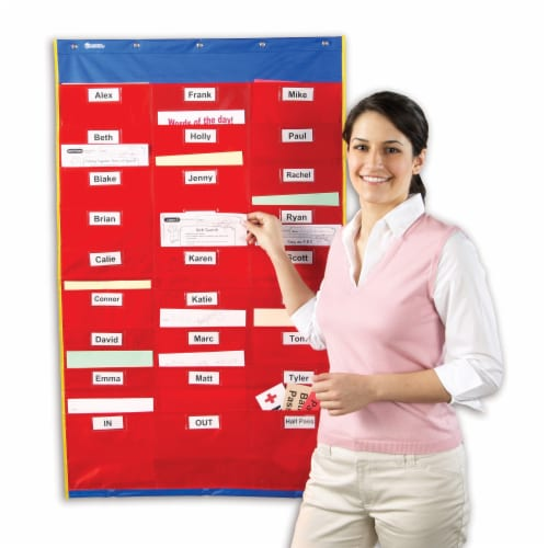 Learning Resources® Organization Station Pocket Chart Perspective: left