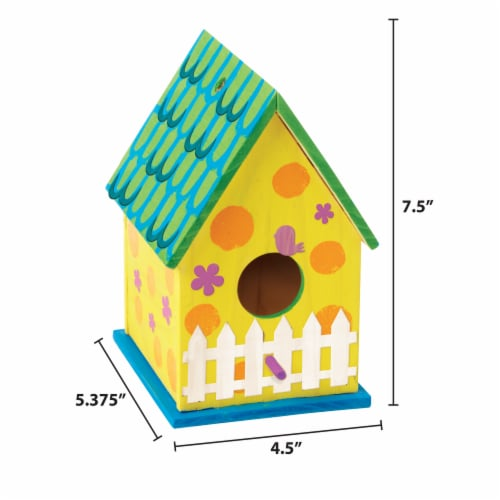 Horizon Group USA Made by Me Bird House Kit Perspective: left