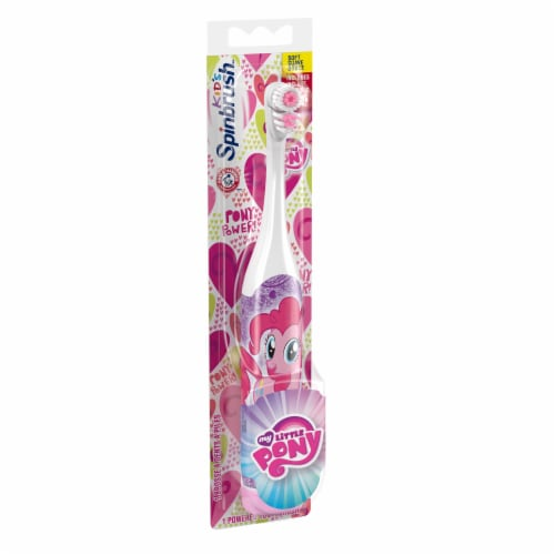 Arm & Hammer Kids' Spinbrush My Little Pony Toothbrush Perspective: left