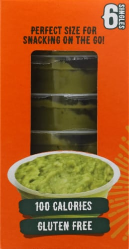 Yucatan Authentic Guacamole Singles Perspective: left