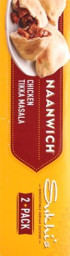 Sukhi's Chicken Tikka Masala Naanwich Perspective: left
