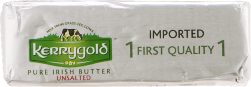 Kerrygold Unsalted Pure Irish Butter Perspective: left