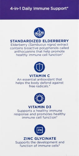 Nordic Naturals Immune Daily Defense Softgels Perspective: left