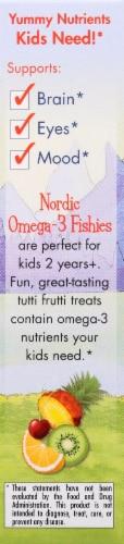 Nordic Naturals Omega-3 Tutti Frutti Fishies Gummies Perspective: left