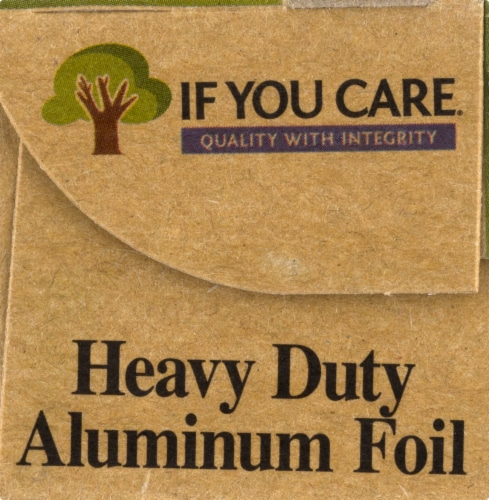 If You Care 100% Recycled Heavy Duty Aluminum Foil Perspective: left
