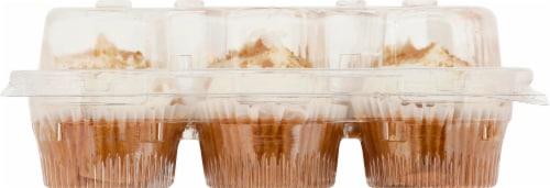 Two-Bite Mini Carrot Cake Premium Cupcakes Perspective: left