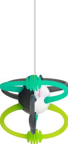 Infantino Bend and Teethe Rattle Toy Perspective: left