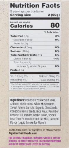 Big Mountain Foods Mighty Mushroom Bites Perspective: left