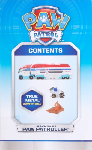 Spin Master Paw Patrol Die Cast Launch N Hauler Vehicle Perspective: left