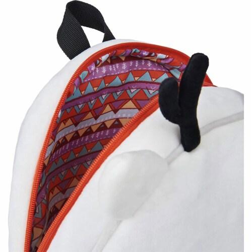GUND 13 Inch Hilda Twig Soft Plush Kids Stuffed Animal School Backpack, White Perspective: left