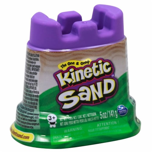 Kinetic Sand Single Container - Purple Perspective: left