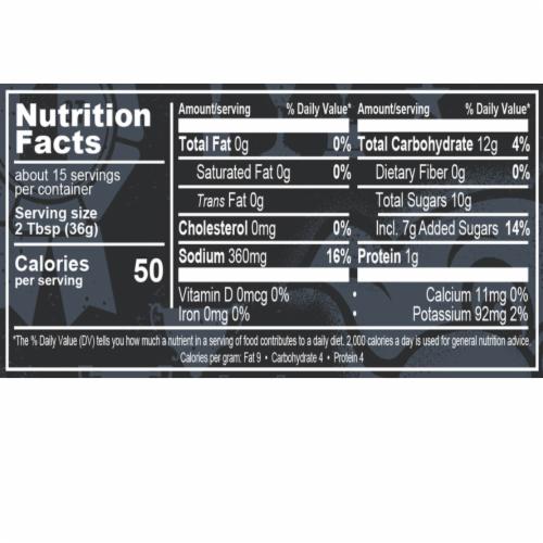 Famous Dave's Devil's Spit BBQ Sauce Perspective: left