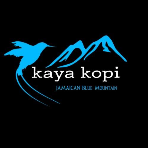 Premium Kaya Kopi Jamaican Blue Mountain Coffee  Arabica Grade 1 Roasted Ground Beans 12 Oz Perspective: left