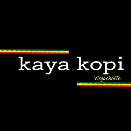 Premium Kaya Kopi Yirgacheffe  Ethiopian Arabica Specialty Roasted Ground Coffee Beans 12oz Perspective: left