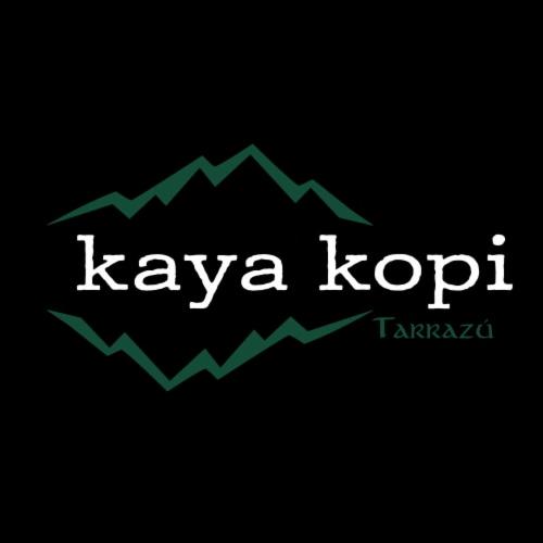 Premium Kaya Kopi Tarrazu Costa Rican Geisha Arabica Roasted Whole Coffee Beans 12 Oz Perspective: left