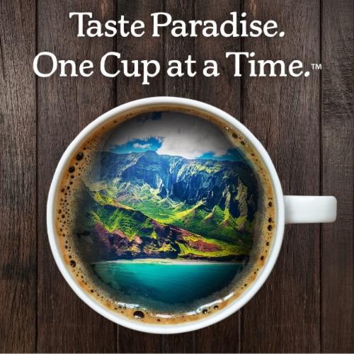 Kauai Coffee Vanilla Macadamia Nut Single-Serve Cups, 12 Count Perspective: left