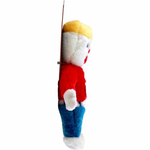 Multipet Mr. Bill Dog Toy Perspective: left