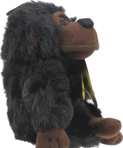 Multipet Look Who's Talking Chimp Dog Toy Perspective: left