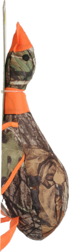 Multipet Mossy Oak Plush Duck Perspective: left