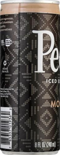Peet's Coffee Mocha Iced Espresso Coffee Drink Perspective: left