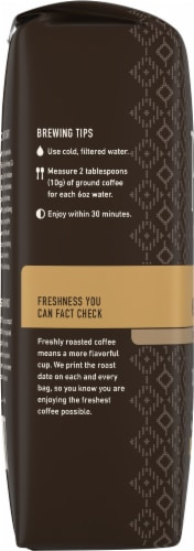 Peet's Costa Rica Finca La Hilda Medium Roast Ground Coffee Perspective: left