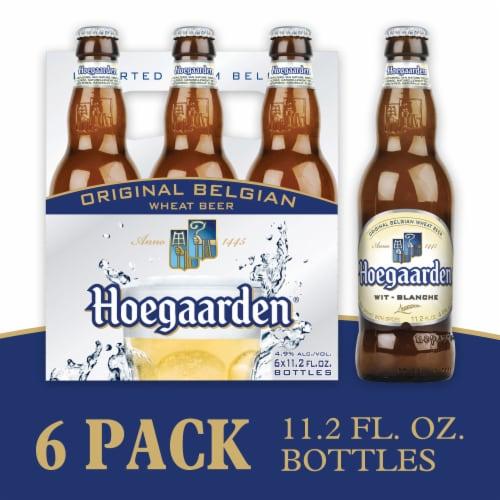 Hoegaarden The Original Belgian Wheat Beer Perspective: left