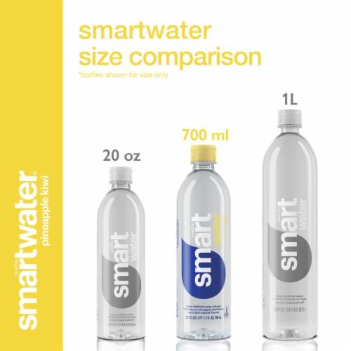 Smartwater Pineapple Kiwi Vapor Distilled Water Perspective: left