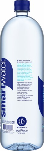Smartwater Vapor Distilled Water Perspective: left