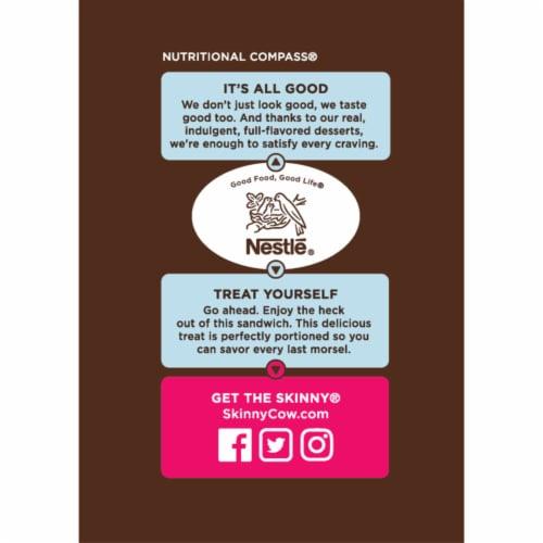Skinny Cow Vanilla Gone Wild Ice Cream Sandwiches - No Sugar Added Perspective: left