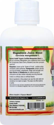 Dynamic Health Mangosteen Juice Blend Perspective: left
