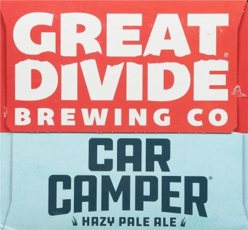 Great Divide Brewing Co. Car Camper Hazy Pale Ale Perspective: left