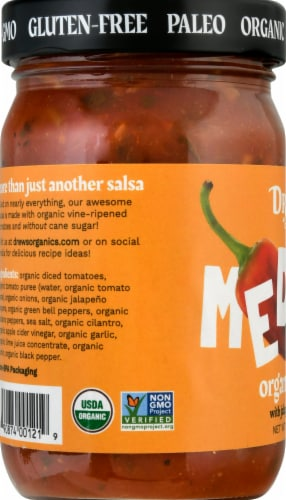Drew's Organics Medium Salsa Perspective: left