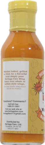 Heritage Fare Buffalo Style Garlic Wing Sauce Perspective: left