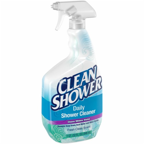 Clean Shower Daily Shower Cleaner Perspective: left