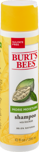 Burt's Bees More Moisture Baobab Shampoo Perspective: left