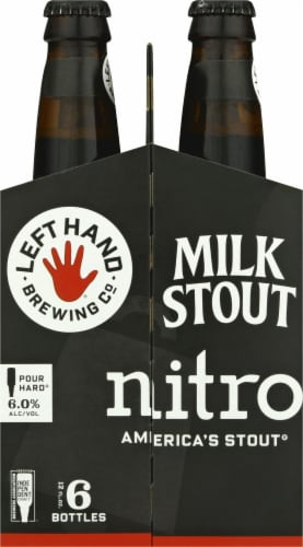 Left Hand Brewing Co. Nitro Milk Stout Perspective: left