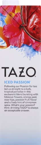 Tazo Iced Passion® Caffeine-Free Herbal Tea Concentrate Perspective: left