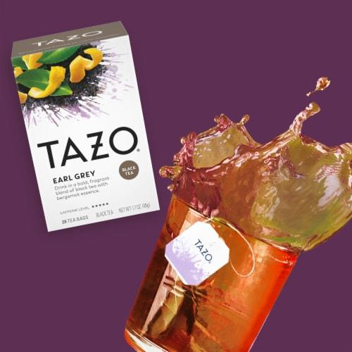 Tazo Earl Grey Black Tea Bags Perspective: left