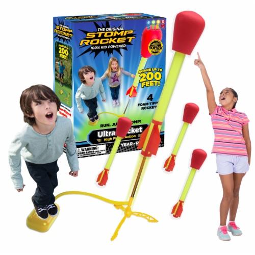 Stomp Rocket® Original Ultra Rocket Perspective: left