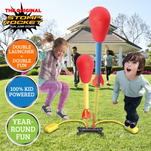 Stomp Rocket® Dueling Rockets Perspective: left