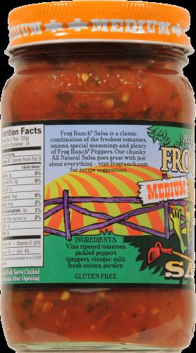 Frog Ranch Medium Salsa Perspective: left