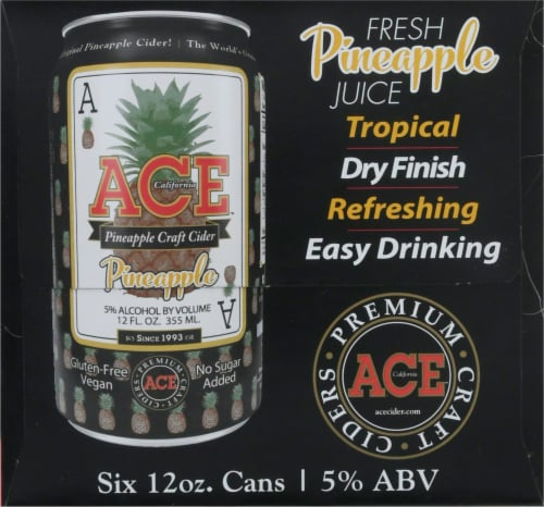 Ace Pineapple Cider Perspective: left