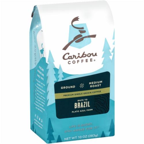 Caribou Coffee Back to Brazil Medium Roast Ground Coffee Perspective: left