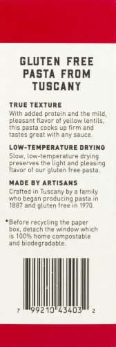 Bionaturae Organic Gluten Free Penne Rigate Perspective: left