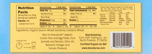 Bionaturae Organic Lasagne Pasta Perspective: left
