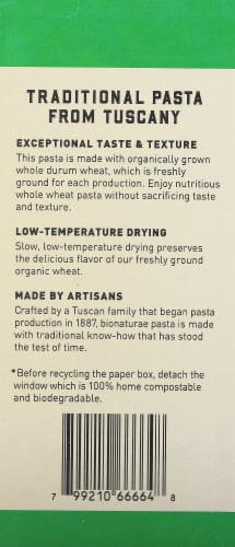 Bionaturae Organic Whole Wheat Fusilli Perspective: left