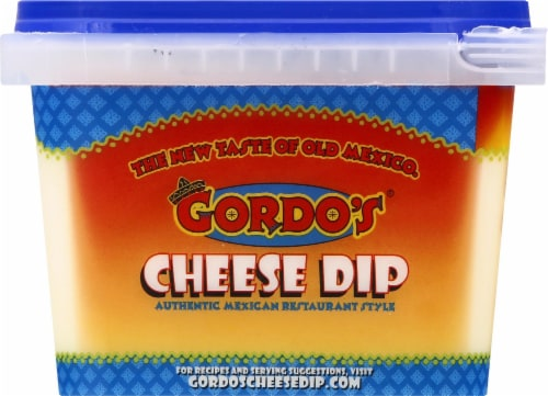 Gordo's Original Mexican Resturant Style Cheese Dip Perspective: left